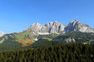 Lage am Berg