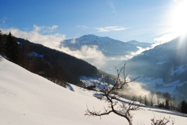 Winter mit viel Schnee  in Tirol