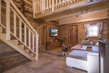 Wohnraum mit 50 Zoll TV