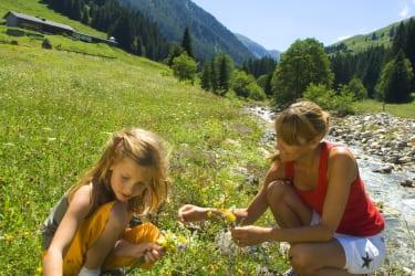 Wandern im Kräutergarten Tirol