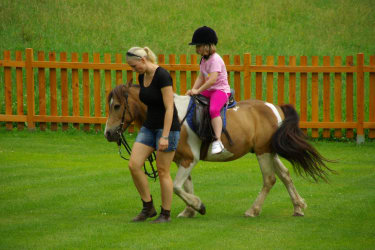 Ponyreiten Feriengut Oberhabach