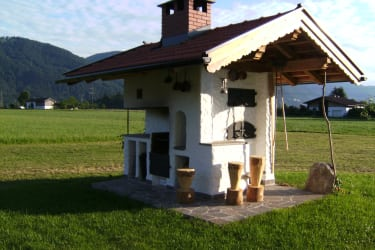 Our bread oven with BBQ