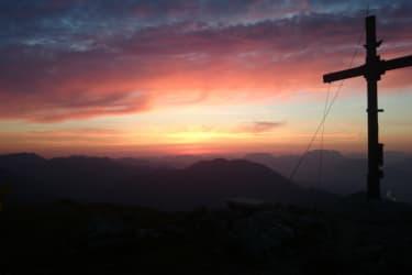 Sonnenaufgang Rosskopf