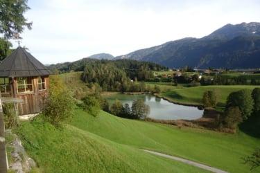 Herbstausblick vom Pulvererhof zum Frauensee