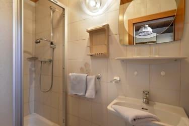 Dusche/WC Ferienwohnung