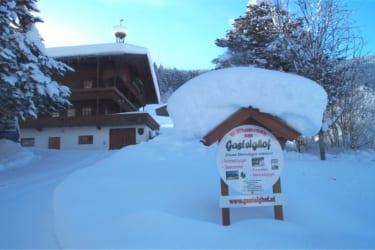 Der Gasteighof im Winter