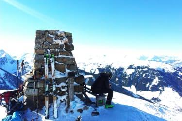 Skitour auf den Joel