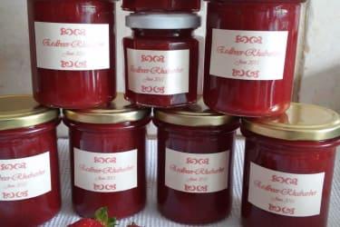 Frisch gekochte Marmelade