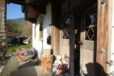 Eingangstür -urige Haustür