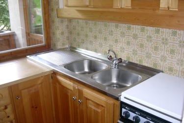 Küche Wohnung groß