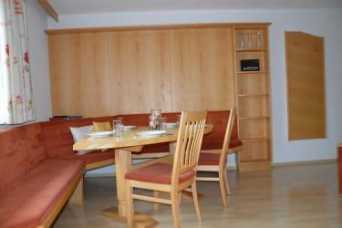 Essbereich Wohnung Schönjöchl
