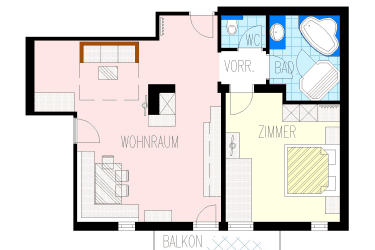 Giebelapartment