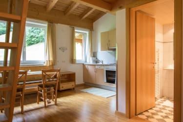 Wohnküche der Ferienwohnung