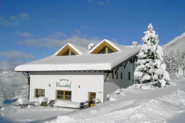 Wiesenhof im Winter