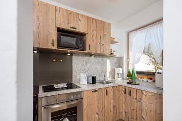Top ausgestattete Küche mit tollem Ausblick in der Few.Edelweiss, Biohof-Inntalblick