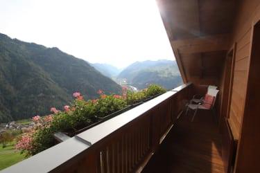 Morgenstimmung am Balkon