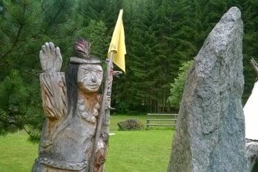 howk sprach der Indianer