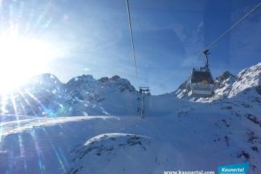 Karlesjochbahn führt Sie bis auf 3100m