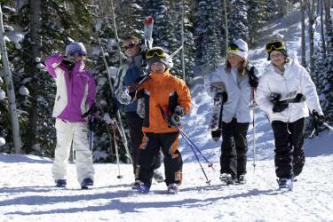 Auf gehts zum Skifahren