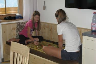 gemütliche Spielrunden in der Wohnkücke