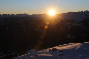 Wintersport wo die Sonne lacht - Zettersfeld