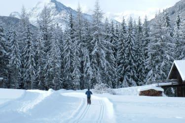 Langlaufen in Hopfgarten, Osttirol