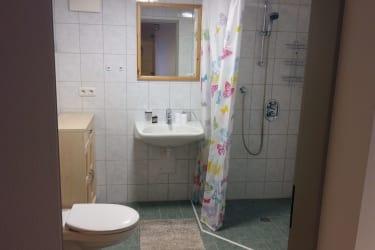 Dusche und WC Rollstuhlgerecht