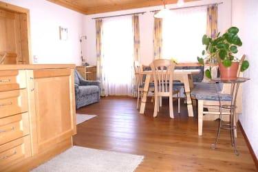 Küche-Wohnzimmer Fewo Kalkstein