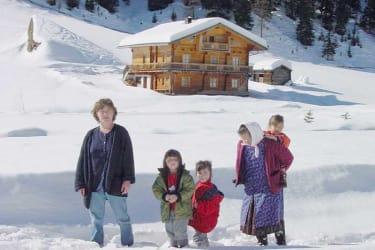 Winterwandern zur Unterstalleralm