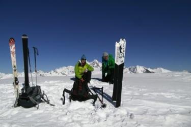 Gipfelsieg am Schoenleitenspitz