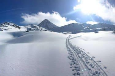 herrliche Spuren im Schnee