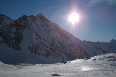 romantische stimmung in den bergen