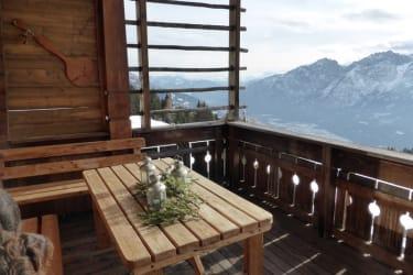 Die imposanten  Lienzer Dolomiten immer  vor Augen!