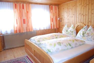 Schlafzimmer FeWo Zunigblick