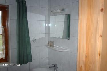Dusche und WC Wohnung 1