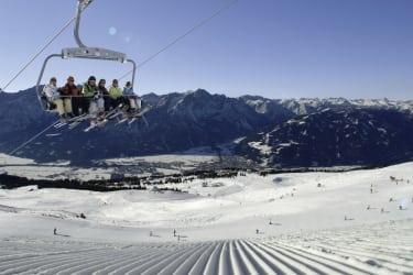 Schifahren am zettersfeld