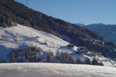 Blick vom Rasterhof, Winter