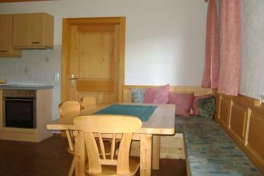 Wohnküche, Sitzecke