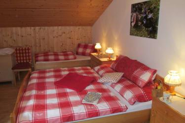 Ferienwohnung  Goldriedblick großes Zimmer