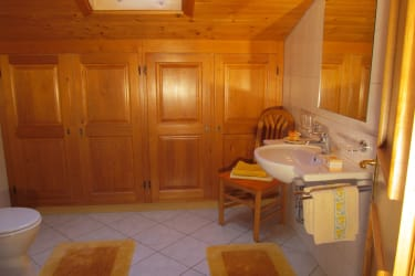 Badezimmer in FeWo Goldriedblick