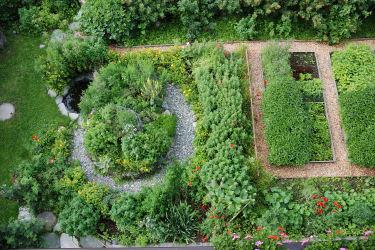 Kräutergarten vom Klampererhof