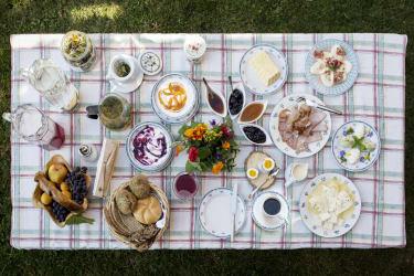 Frühstück am Klampererhof