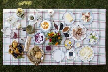 Frühstück am Klampererhof in Virgen/ Osttirol