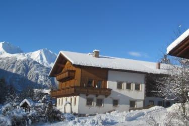 Klampererhof im Winterkleid