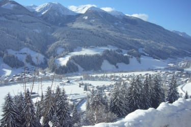 Winterpanorama Hochpustertal