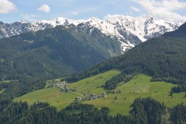Sicht nach Süden - Hollbruck