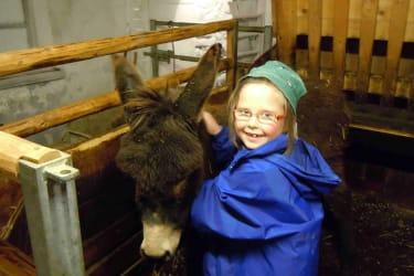 Katharina mit ihrem liebling Ben