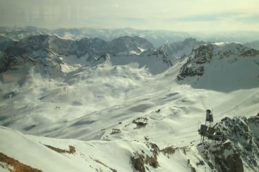 Aussicht von der Zugspitze