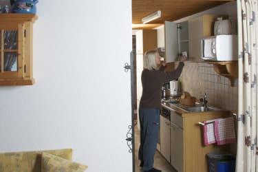 Ferienwohnung »Kirchenblick« Küche