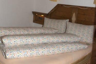 Ferienwohnung »Kirchenblick« Schlafzimmer